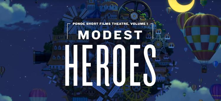 Crítica de Modest Heroes cartel promocional - El Palomitrón