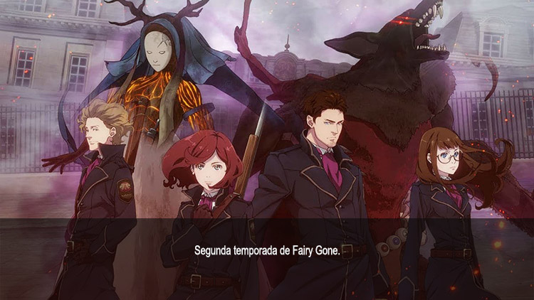 Guía de anime otoño 2019 Fairy Gone S2 - El Palomitrón