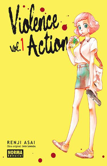 Reseña de Violence Action portada - El Palomitrón