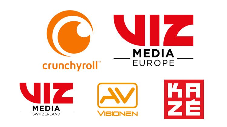 alianza entre Crunchyroll y VIZ Media Europe Group logos - El Palomitrón