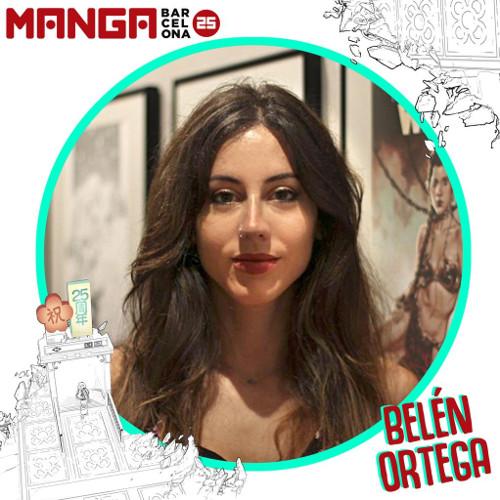 Autores invitados al Manga Barcelona 25 Belén Ortega - El Palomitrón