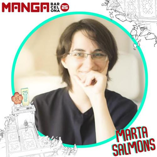 Autores invitados al Manga Barcelona 25 Marta Salmons - El Palomitrón