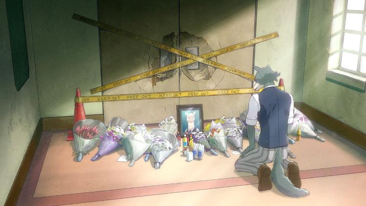 Crítica del anime de Beastars alpaca Tem - El Palomitrón