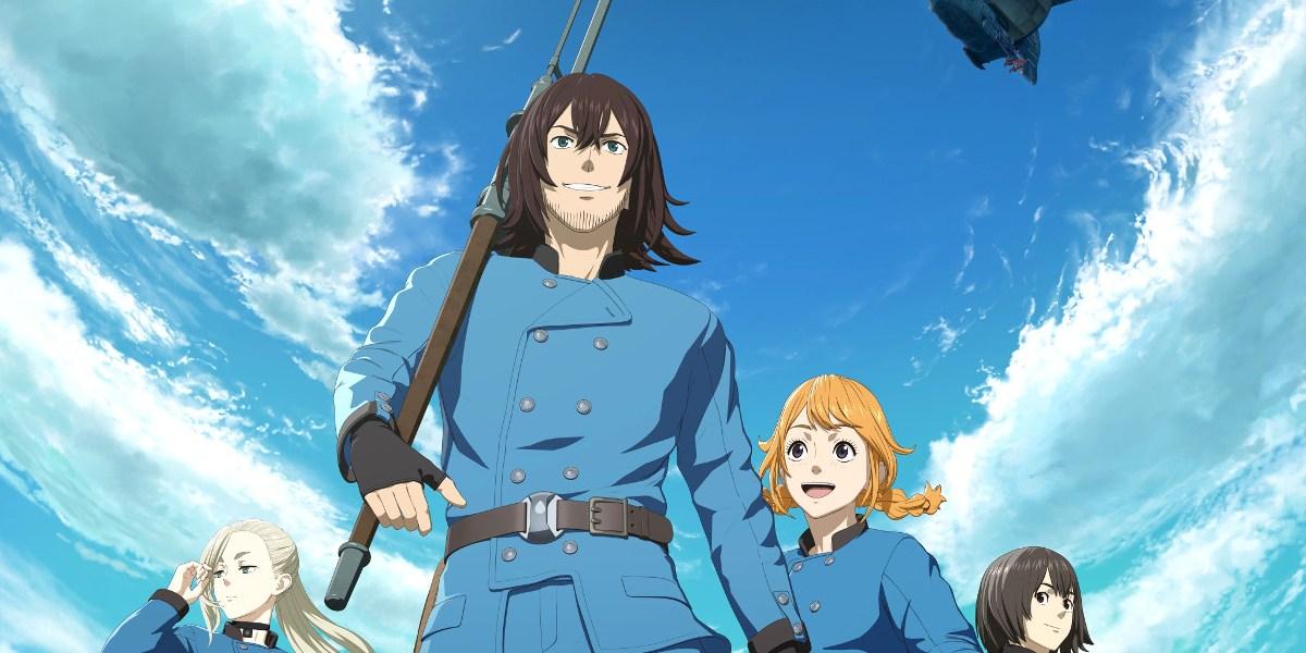 Fecha de estreno y tráiler del anime de Drifting Dragons tripulación HQ - El Palomitrón