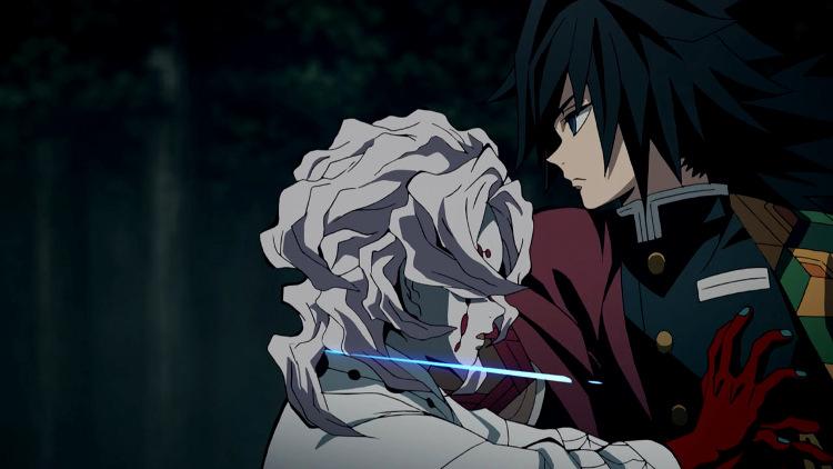 La humanidad de los villanos en el anime de Kimetsu no Yaiba Giyu - El Palomitrón