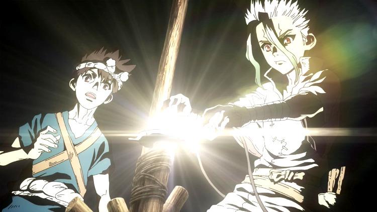 Recomendaciones anime otoño 2019 Dr. Stone - El Palomitrón