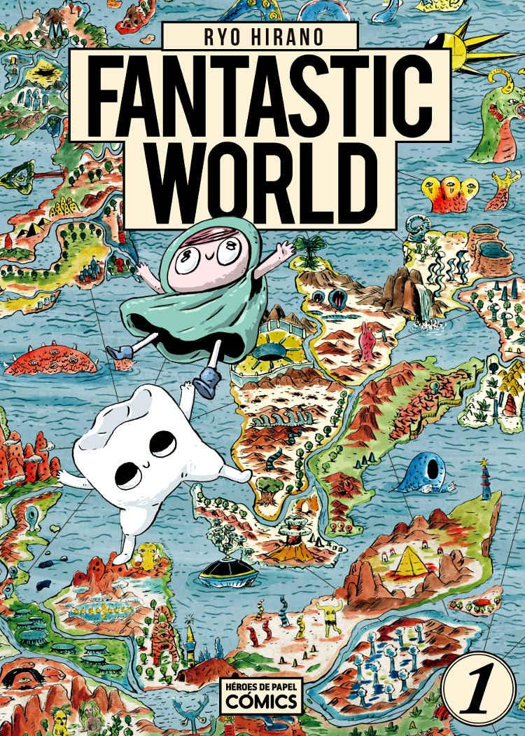 Reseña de Fantastic World Portada - El Palomitrón