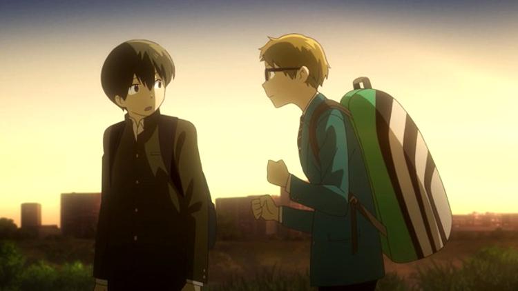 Crítica de Hoshiai no Sora escena 1 - El Palomitrón