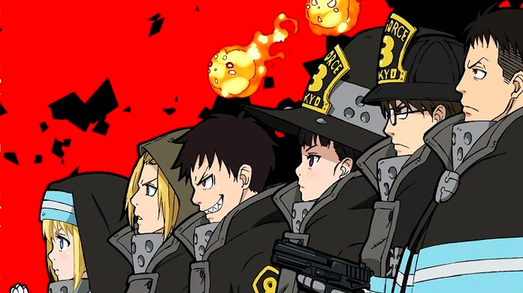 licencias del 25 Manga Barcelona Coalise Estudio Fire Force anime - El Palomitrón