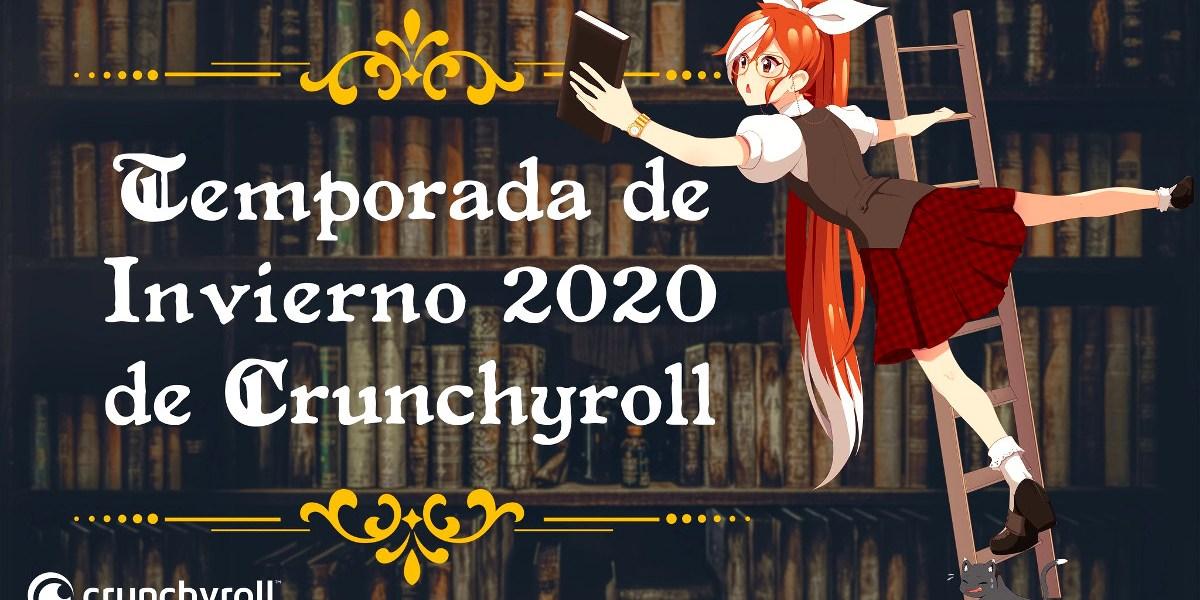 Crunchyroll anime invierno 2020 destacada - El Palomitrón