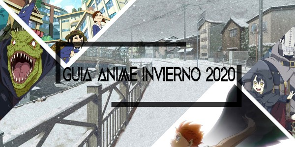 Guía de anime invierno 2020 destacada - El Palomitrón