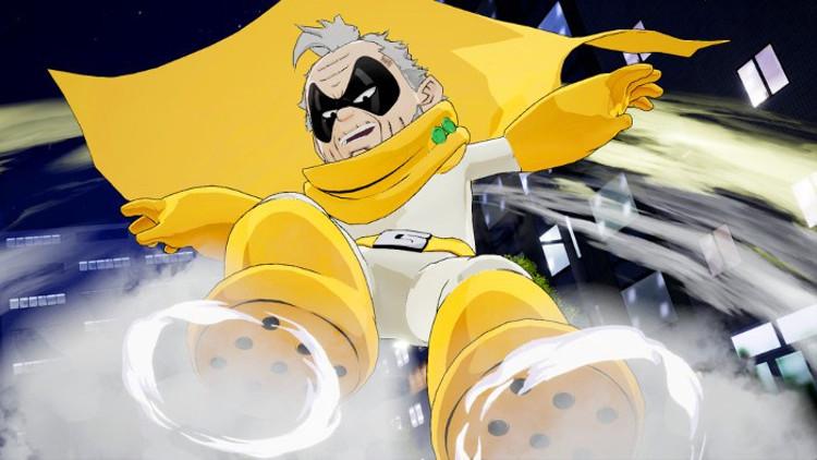 Personajes de My Hero Academia One's Justice 2 Gran Torino - El Palomitrón