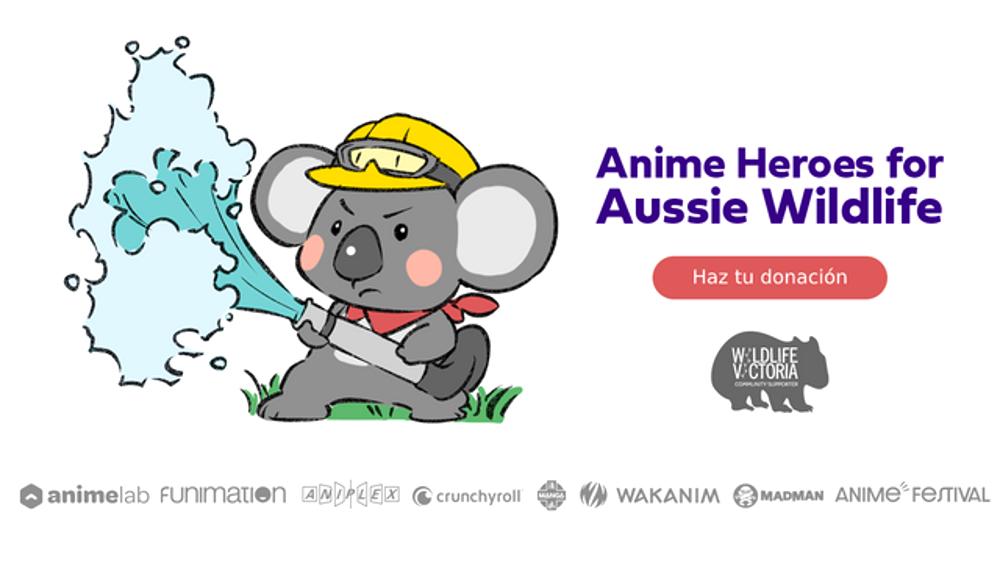 Crunchyroll equiparará las donaciones para la naturaleza de Australia en GoFundMe destacada - El Palomitrón
