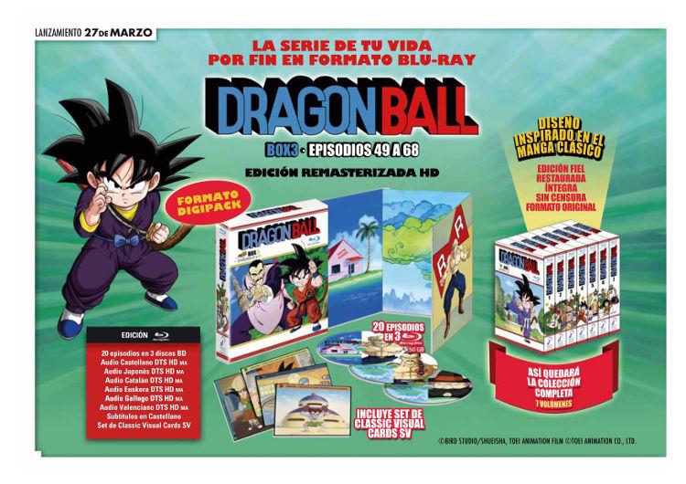 Lanzamientos Selecta Visión marzo 2020 Dragon Ball - El Palomitrón