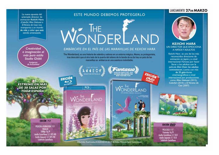 Lanzamientos Selecta Visión marzo 2020 The Wonderland - El Palomitrón