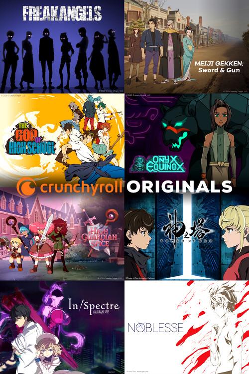 animes de Crunchyroll Originals listado de animes - El Palomitrón