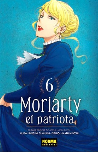 Lanzamientos Norma Editorial abril 2020 Moriarty el patriota - El Palomitrón