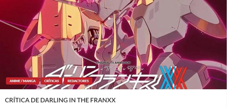 edición en DVD de Darling in the FRANXX artículo 1 - El Palomitrón