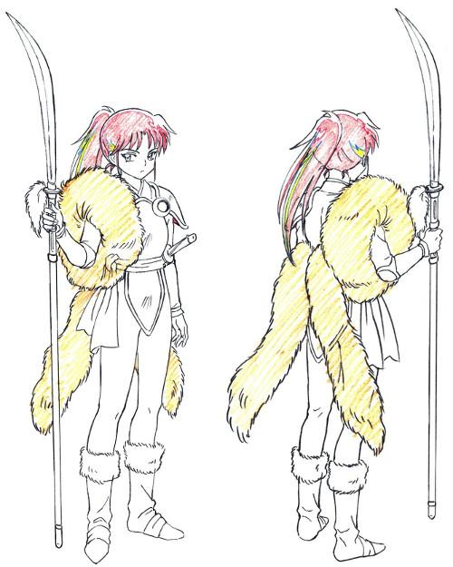 Fecha de estreno de Hanyō no Yashahime personajes 1 - El Palomitrón