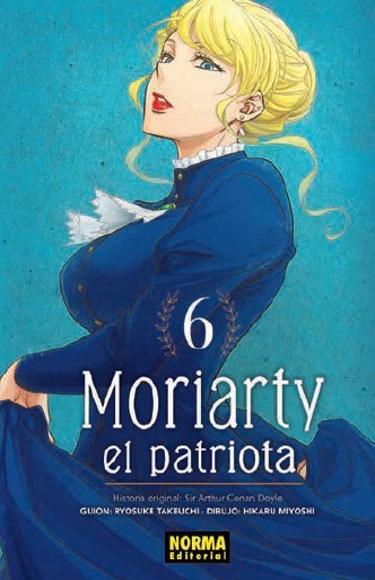 Lanzamientos Norma Editorial junio 2020 Moriarty el patriota - El Palomitrón