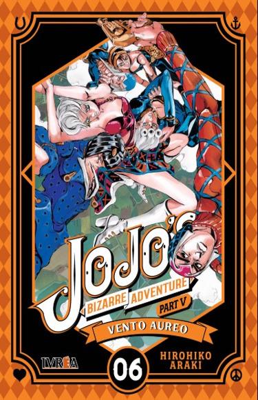 Reapertura de librerías y novedades manga JJBA Vento Aureo #6 - El Palomitrón