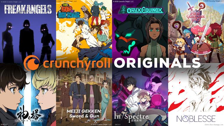 El auge de los webtoons Crunchyroll Originals - El Palomitrón