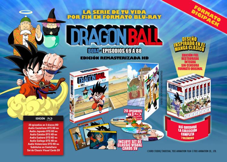 Lanzamientos Selecta Visión agosto 2020 slam dragon ball box 4 - El Palomitrón