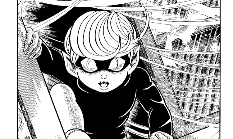 Reseña de El chico de los ojos de gato #2 panel 1 - El Palomitrón