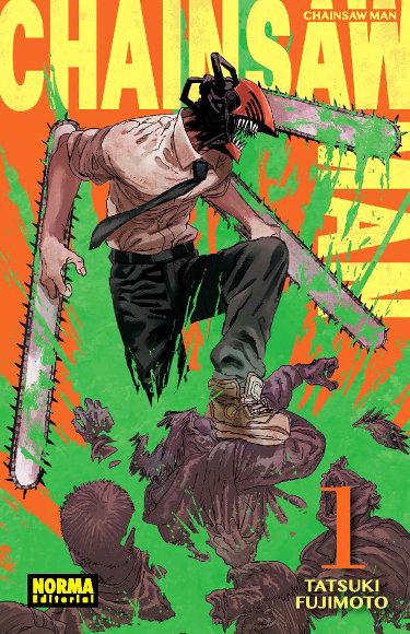 Lanzamientos Norma Editorial septiembre 2020 Chainsaw Man - El Palomitrón