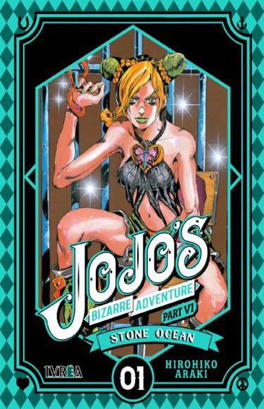 Lanzamientos Editorial Ivrea octubre 2020 JoJo's Bizarre Adventure Stone Ocean - El Palomitrón