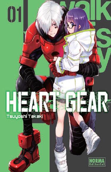 Lanzamientos Norma Editorial octubre 2020 Heart Gear - El Palomitrón