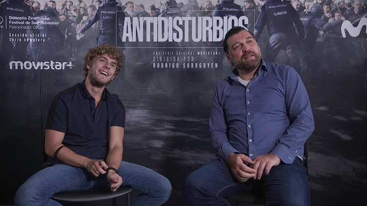 entrevista antidisturbios patrick criado hovik keuchkerian - el palomitrón