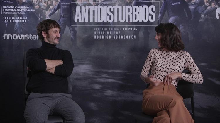 entrevista antidisturbios raul arevalo vicky luengo - el palomitrón