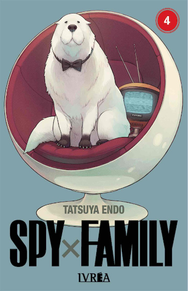 Lanzamientos Editorial Ivrea diciembre 2020 Spy x Family - El Palomitrón