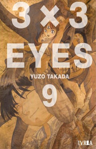 Lanzamientos Editorial Ivrea noviembre 2020 destacada 3x3 Eyes - El Palomitrón
