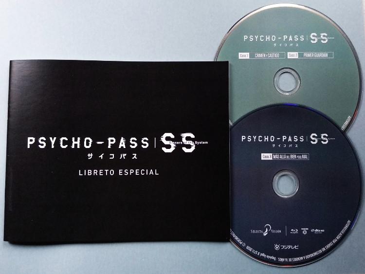 edición Blu-ray de Psycho-Pass Sinners of the System Galería 5 - El Palomitrón