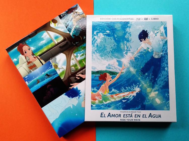 edición coleccionista de El amor está en el agua Galería 2 - El Palomitrón