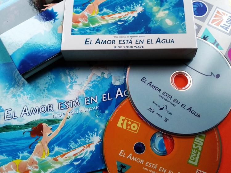edición coleccionista de El amor está en el agua Galería 6 - El Palomitrón
