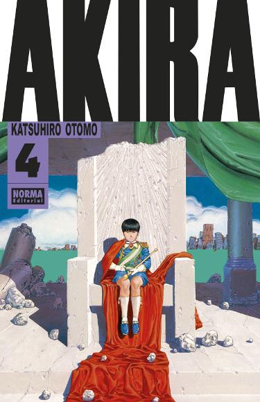 Lanzamientos Norma Editorial febrero 2021 Akira - El Palomitrón