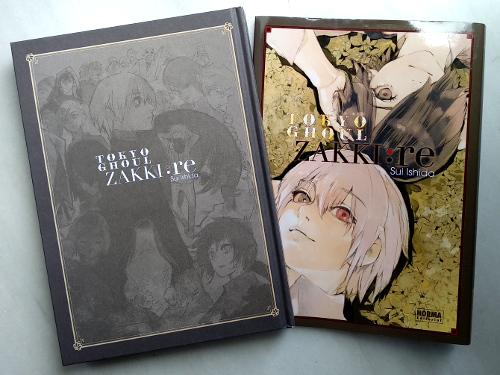 artbook Tokyo Ghoul Zakki re galería 1 - El Palomitrón