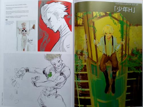 artbook Tokyo Ghoul Zakki re galería 11 - El Palomitrón