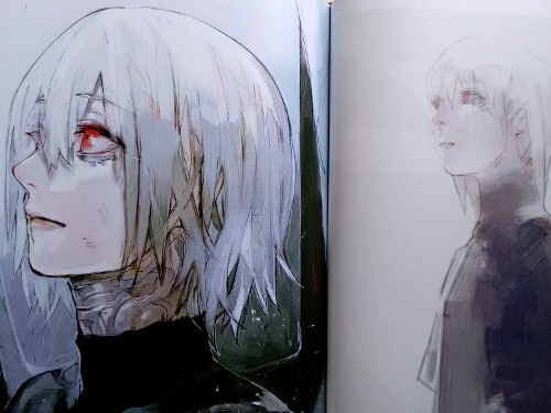artbook Tokyo Ghoul Zakki re galería 6 - El Palomitrón