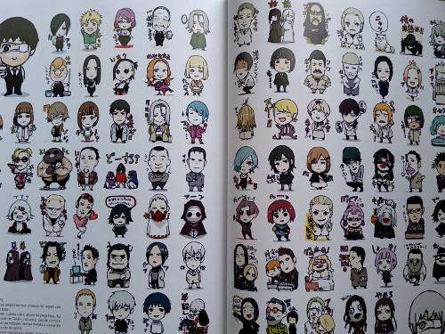artbook Tokyo Ghoul Zakki re galería 7 - El Palomitrón
