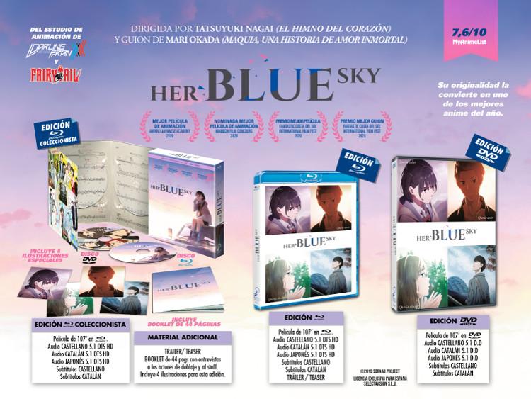 Análisis de la edición coleccionista de Her Blue Sky Galería 1 - El Palomitrón