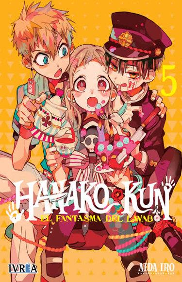 Lanzamientos Editorial Ivrea junio 2021 Hanako - El Palomitrón