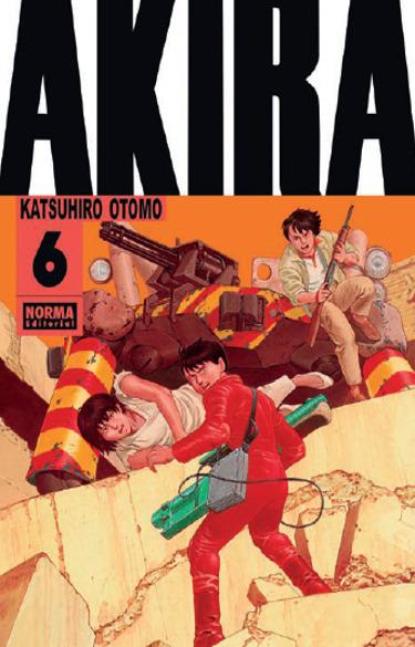 Lanzamientos Norma Editorial junio 2021 Akira6 - El Palomitrón