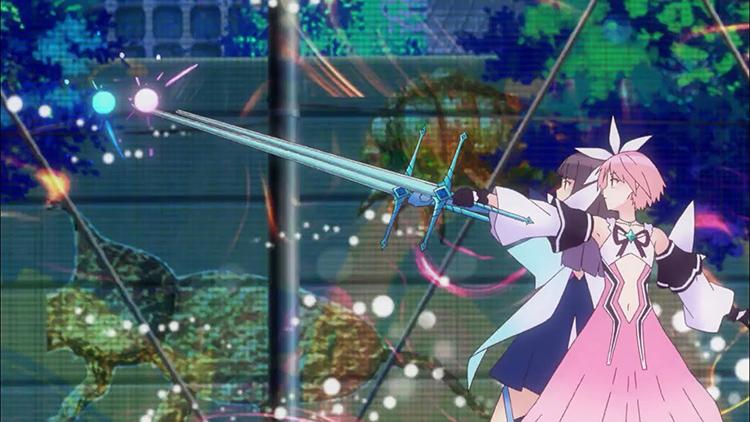 Recomendaciones anime primavera 2021 Blue Reflection Ray - El Palomitrón