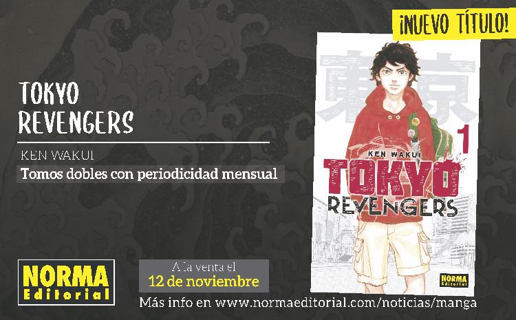 Tokyo Revengers entre las nuevas licencias de Norma Editorial para 2021 slide 1 - El Palomitrón