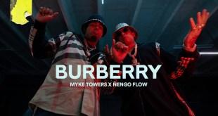 Myke Towers Ft. Ñengo Flow - Burberry