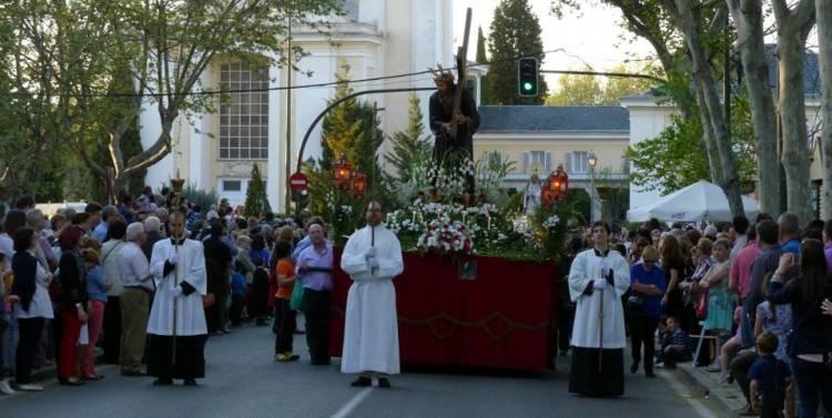 Semana Santa en El Pardo. El Nazareno